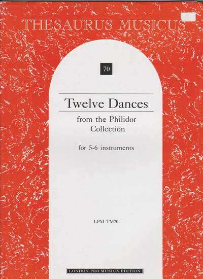 photo of Twelve Dances from the Philidor Collection