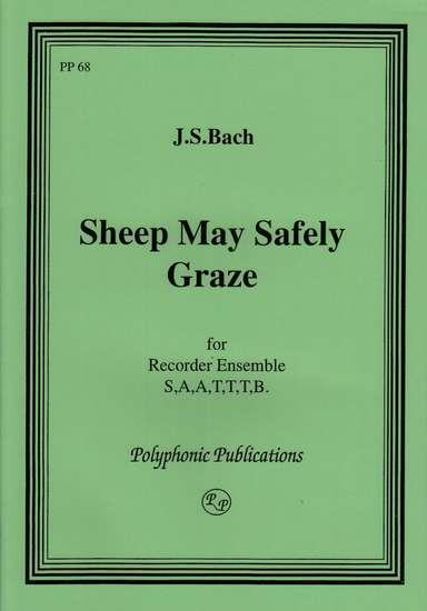 photo of Sheep May Safely Graze