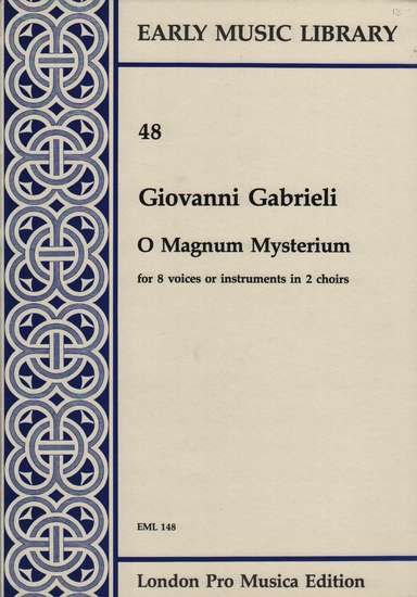 photo of O Magnum Mysterium