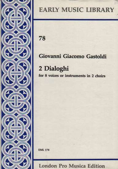 photo of 2 Dialoghi (2 choirs)