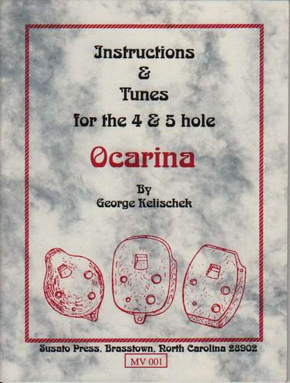 photo of Instructions and Tunes for the 4 & 5 hole Ocarina