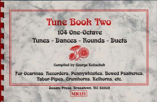 photo of Tune Book Two, 104 One -Octave Tunes