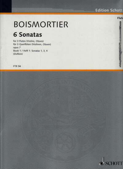 photo of Sechs Sonaten, Band I, Sonata I, IV, III