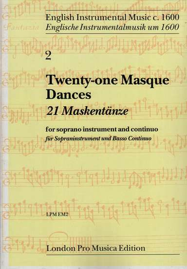 photo of Twenty-one Masque Dances