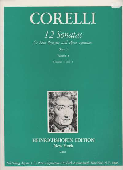 photo of 12 Sonatas, Opus 5, Vol. I, No. 1-2