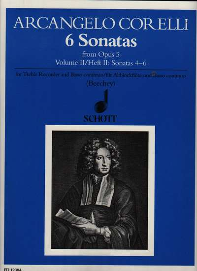 photo of Six Sonatas from Opus 5, Vol. II (No. 8,11,12)
