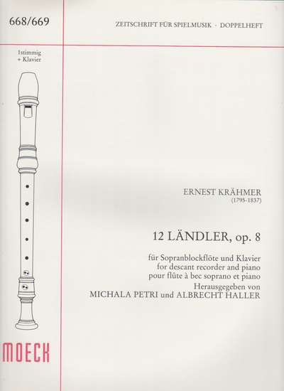 photo of 12 Landler, op. 8
