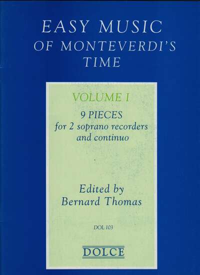 photo of Easy Music of Monteverdi