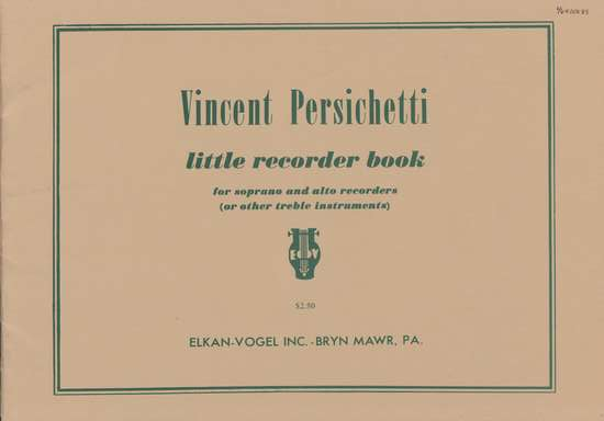 photo of Little Recorder Book
