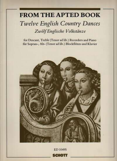 photo of Twelve English Country Dances from the Apted Book