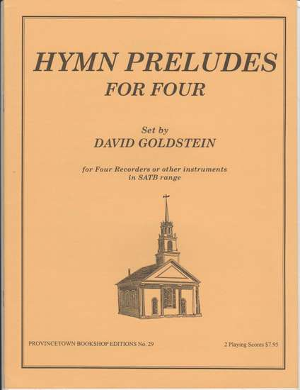 photo of Hymn Preludes for Four