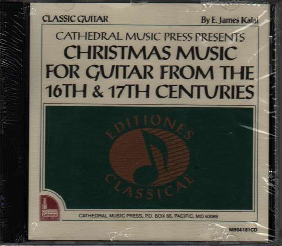 photo of Christmas Music for Guitar from 16th & 17th Cent., CD