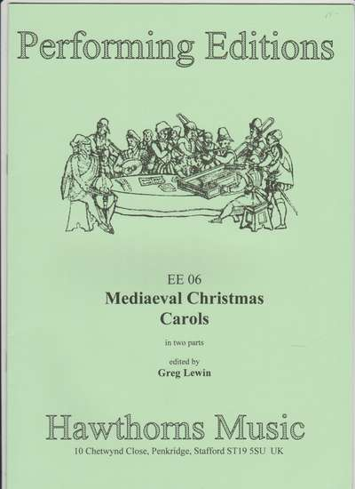 photo of Mediaeval Christmas Carols in two parts