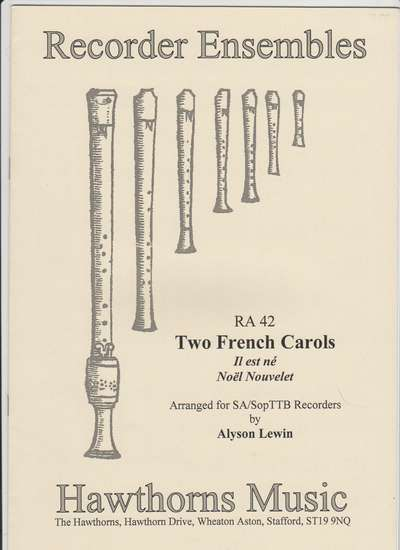photo of Two French Carols, Il es ne, Noel Nouvelet