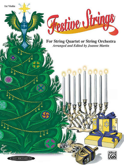photo of Festive Strings 1st violin, for String Quartet or String Orchestra