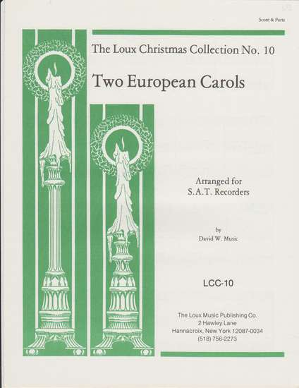 photo of Two European Carols, O Leave Your Sheep, On Christmas Night