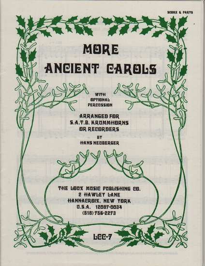 photo of More Ancient Carols
