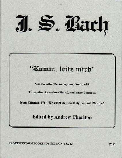 photo of Komm, leite mich from Cantata 175