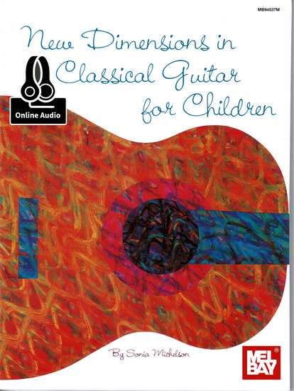 photo of New Dimensions in Classical Guitar for Children