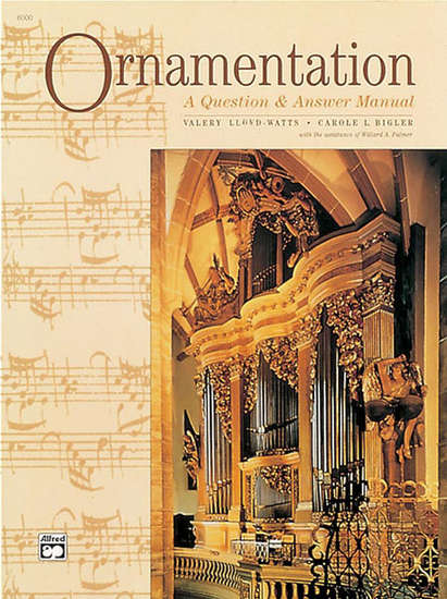 photo of Ornamentation, A Question and Answer Manual