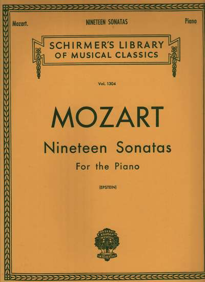 photo of Nineteen Sonatas for the Piano (Epstein)