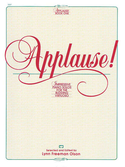 photo of Applause! Book One