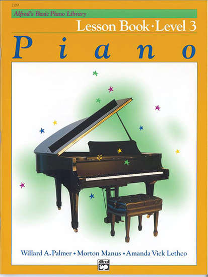 photo of Basic Piano Lesson Book, Level 3