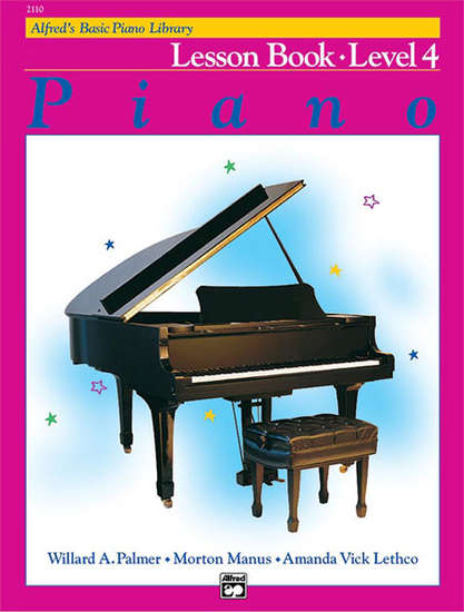 photo of Basic Piano Lesson Book, Level 4