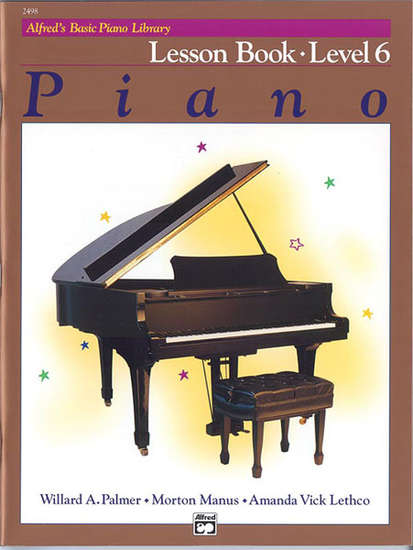 photo of Basic Piano Lesson Book, Level 6