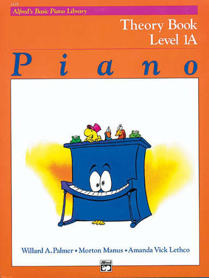 photo of Basic Piano Theory Book, Level 1A