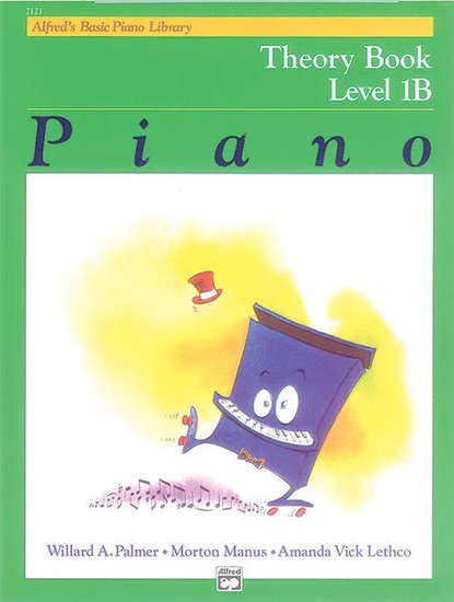 photo of Basic Piano Theory Book, Level 1B
