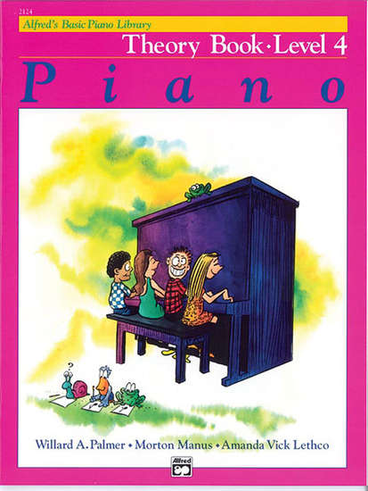 photo of Basic Piano Theory Book, Level 4