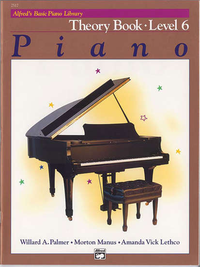 photo of Basic Piano Theory Book, Level 6