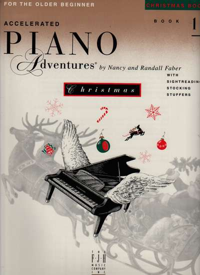 photo of Accelerated Piano, Book 1, Christmas