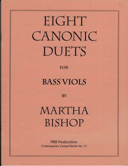photo of Eight Canonic Duets