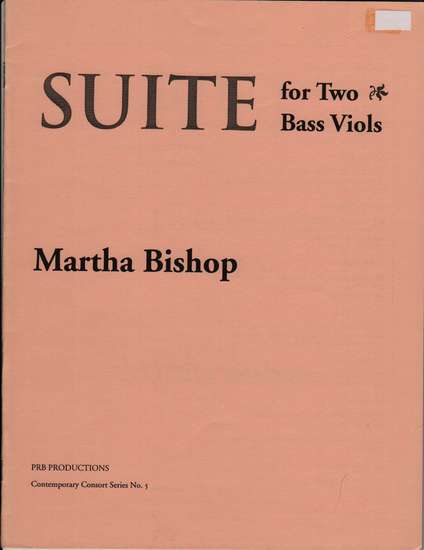 photo of Suite for Two Bass Viols