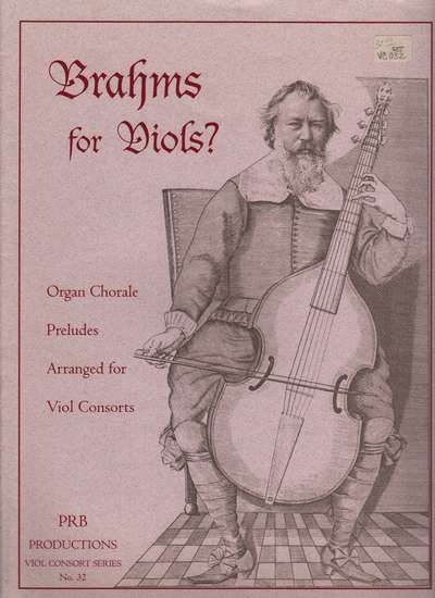 photo of Brahms for Viols?