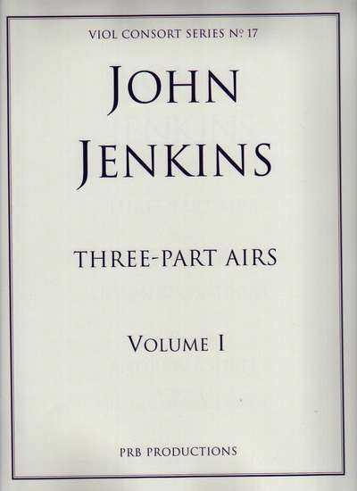 photo of Three-Part Airs, Vol. 1, Airs in G major and e minor