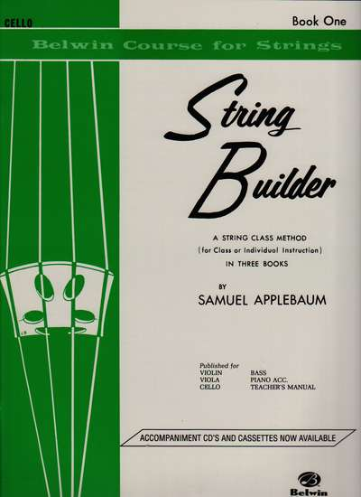photo of String Builder, Cello, Book One