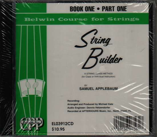 photo of String Builder, Book One, Part One CD