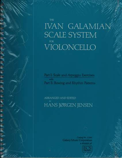 photo of The Ivan Glamian Scale System for Violoncello