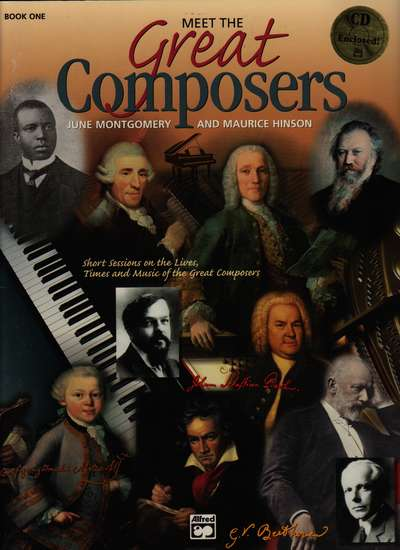 photo of Meet the Great Composers, Book 1 (CD)