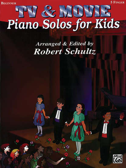 photo of TV & Movie Piano Solos for Kids, Beginner