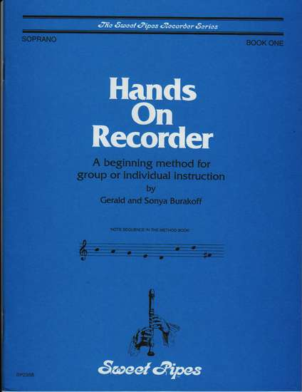 photo of Hands on Recorder, Book 1