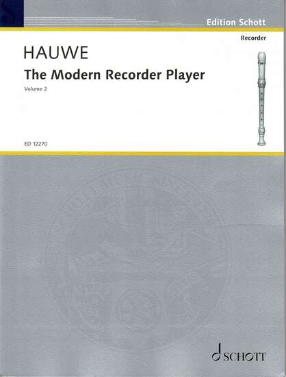 photo of The Modern Recorder Player, Vol. II