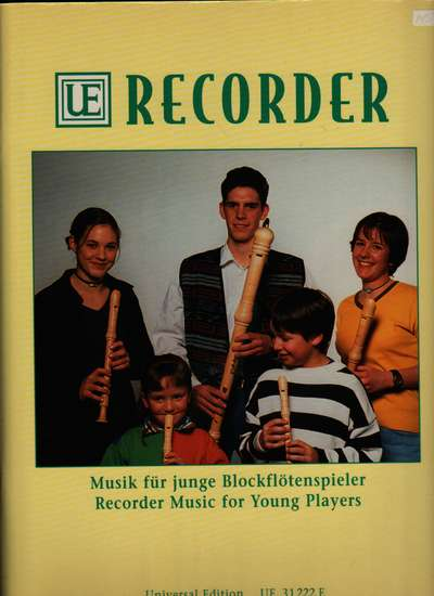 photo of Recorder Music for Young Players