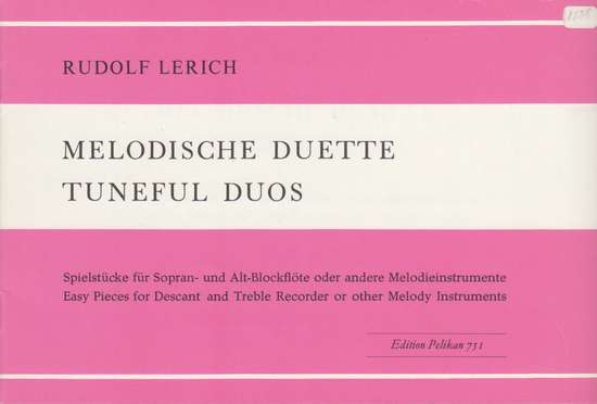 photo of Melodische Duette