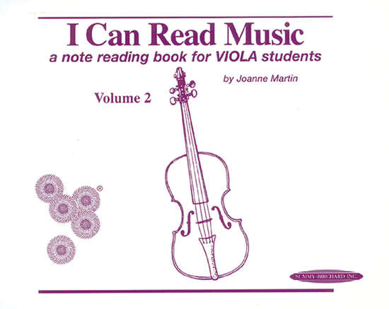 photo of I Can Read Music for Viola, Vol. 2