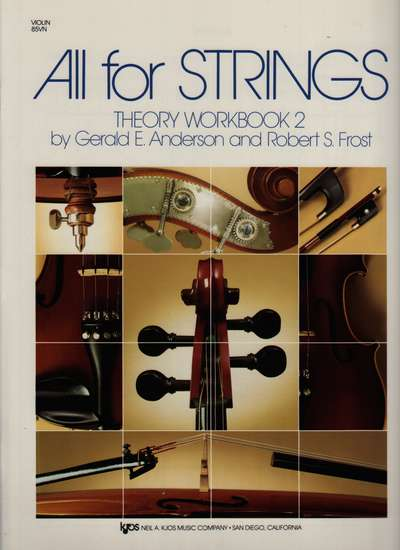 photo of All for Strings, Theory Workbook 2, Violin