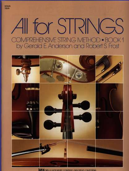 photo of All for Strings, Book 1, Violin